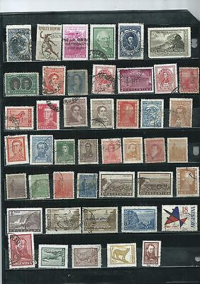 Argentina. Selection Of 45. Very Fine Condition.  As Per Scan