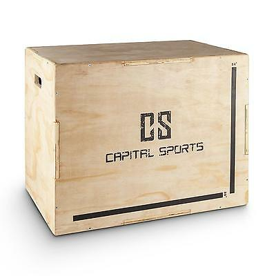 Capital Sports Plyo-Box Sprungbox Sprungkasten Fitness Kraft Training Jump Box