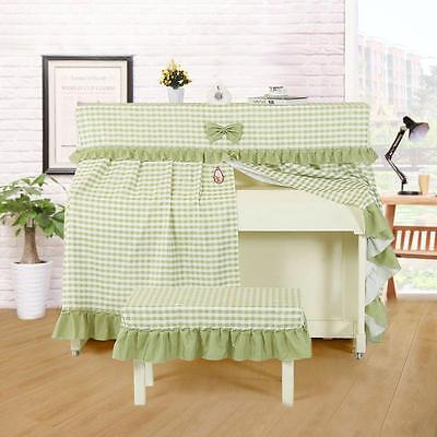 High Classic Lace Piano Cover Upright Piano Dust Cover and Stool Cover UK