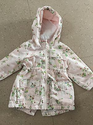 Girls Next Coat Size 9-12 Months