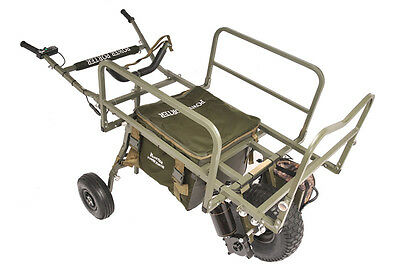 Prestige MK6 Evo 24v Power Porter Barrow Carp Porter + Middle Bag