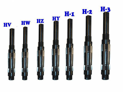"""7 Pcs Adjustable Hand Reamer Set HV to H3 (1/4"""" - 15/32"""") With lowest price and"""