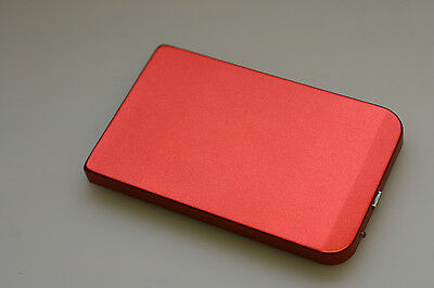 Red Usb  2.5 Inch Hdd Hard Drive Disk Caddy Enclosure Case External Stogage