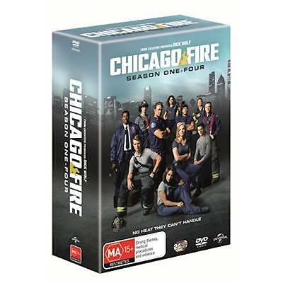 Chicago Fire : Season 1 2 3 4 : NEW DVD Box Set