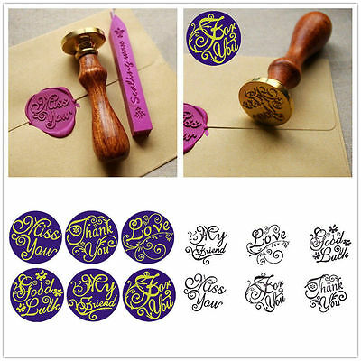 Greetings Personalized Letter Picture Logo Wedding Invitation Wax Seal Stamp