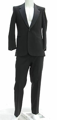 Men's BARNEY'S NEW YORK Black Wedding Tuxedo Suits Size 40R