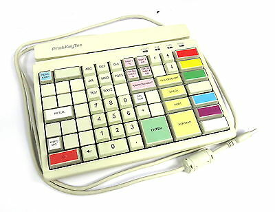 PrehKeyTec MCI84 Programmable USB POS Keyboard & Card Reader C2N12E2M312 TL-946