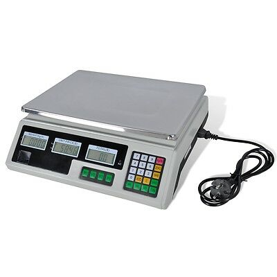 Kitchen Food Scale Digital Electronic Weight Postal 30KG Fruit Meat Diet Blance