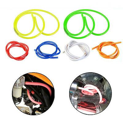 1M Gas Oil Hose Modified Fuel Line Petrol Tube Pipe For Motorcycle Bike Parts