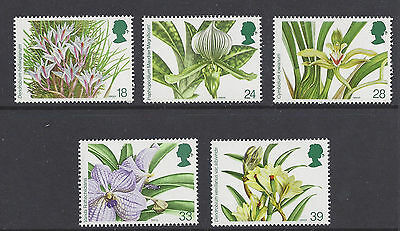 Great Britain 1993 Orchids MNH