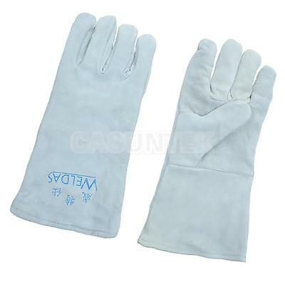 Heavy Duty Welding Gloves Cowhide Leather Gloves Protect Welder Hands XL