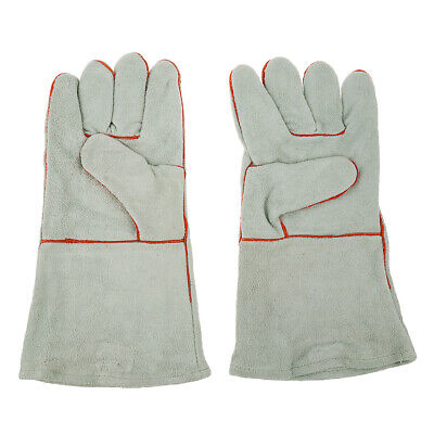 Welding Gloves Cowhide Electric MIG TIG Welding Gloves Welder Protect L / XL