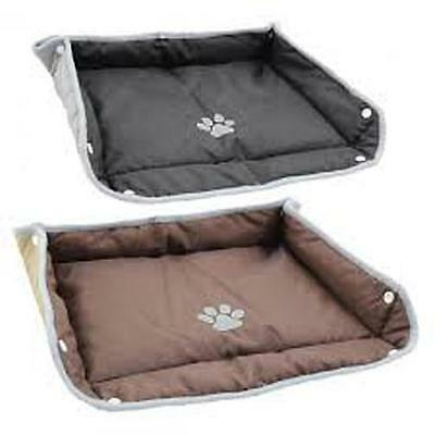 FOLDING PET BED travel mat / liner day bed easy store  caravan boat motorhome