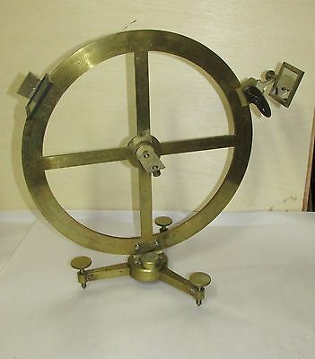 Secretan Paris Antique French Scientific Brass Reflectometer ?