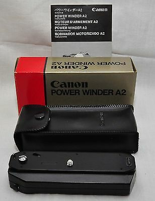 Canon Power Winder A2 For Canon A-1 / AE-1 / AE-1P etc - Excellent Condition