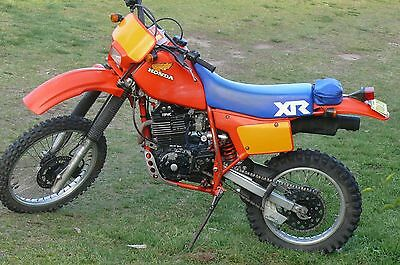 1983 Honda XR500 In original condition ,owners manual suit vmx thumper motorbike