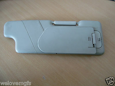 MGF Cream Sun Visor Driver Side Off Side Spring and Clips in tact