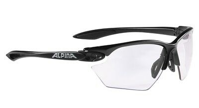 Alpina Twist Four S VLM+ Sportbrille - black matt