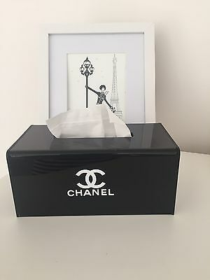 Chanel Acrylic Tissue Cover Brand New