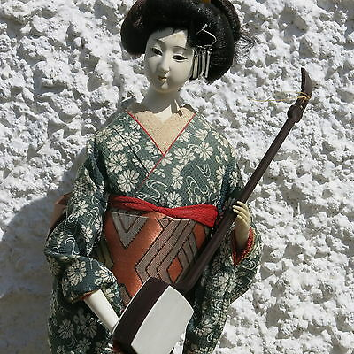 Vintage Japanese Geisha Doll from the 70s. Imported from Japan