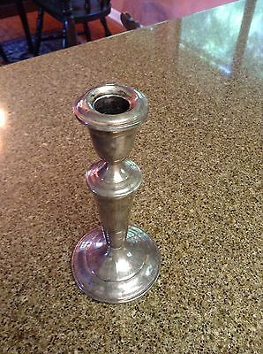"""Vintage ALVIN Sterling Silver S237 Candle Stick Holder. 7"""" Tall"""