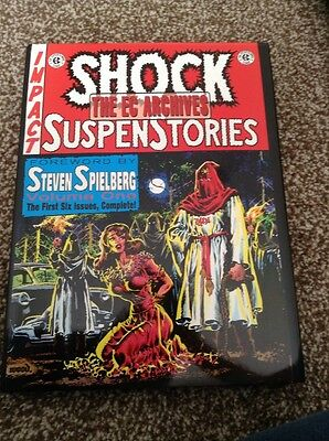 The EC Archives Shock Suspenstories Volume One 1 Book Graphic Novel