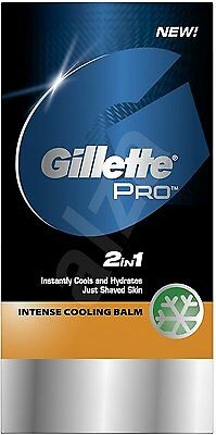Gillette Series 2in1 Intense Cooling Balm 100ml  **NEW**
