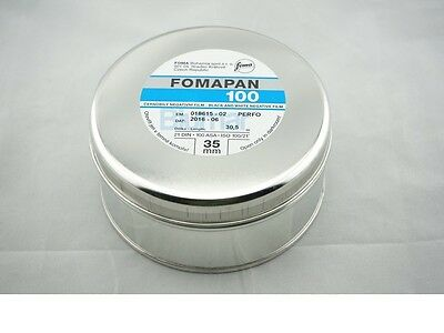 1x bulk roll Foma Fomapan 100 35mm x 30.5 Meter(100ft) B&W Negative film 6-2019!