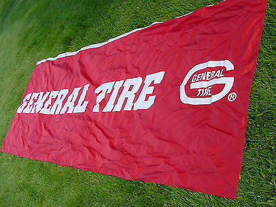 Huge General Tire 12 Foot Long Fabric Banner Sign