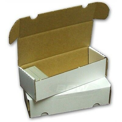 Card Storage Box Holds 500 Cards - 5 Box Pack