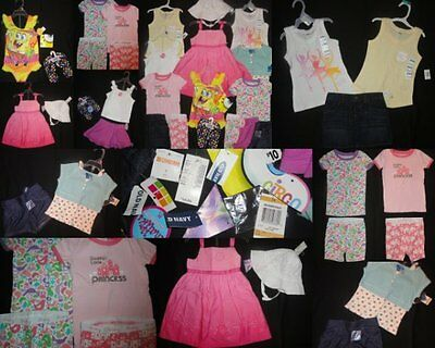 Girls Clothes Summer Dress Outfits Sets Swim size 3 NWTS NEW EUC Toddler LOT