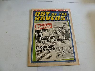 ROY OF THE ROVERS Comic - Year 1978 - Date 09/09/1978 - UK Paper Comic