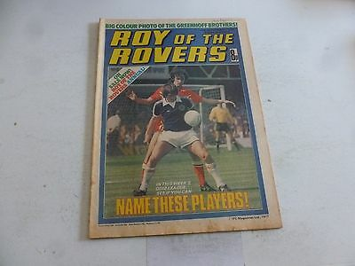 ROY OF THE ROVERS Comic - Year 1977 - Date 17/09/1977 - UK Paper Comic