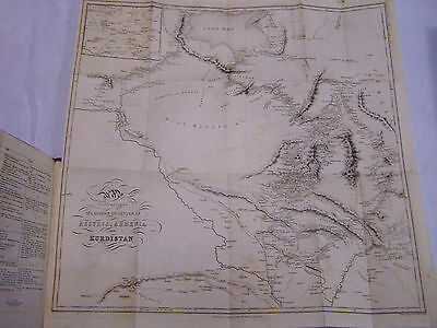 "1853: Discoveries In The Ruins Of Nineveh And Babylon~Layard~1St Ed ""maps~Plans"""