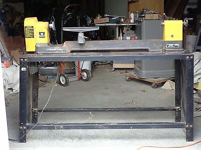Rockwell (Delta) Wood Lathe, 12/14 inch gap bed.
