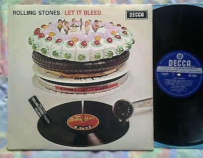 Rolling Stones/Let It Bleed LP(Poster & Inner).1969 Wide Band Stereo 2W/1W LP.
