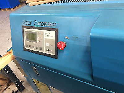 2008 Eaton Compressor 20 HP VSD 460 V Variable Speed - 2 units