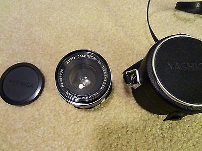 Yashica Auto Yashinon DX 1:2.8 f=35mm Camera Lens with Case