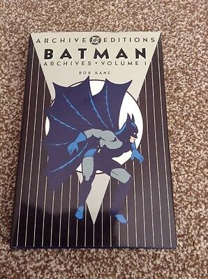 Batman Archives Volume 1 DC Archives Editions Hardback Book