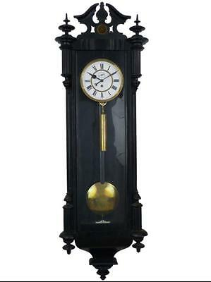 Large Single Weight Vienna Regulator Wall Clock With Seconds Dial (120 cm high)