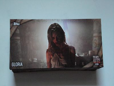 Fear The Walking Dead Season 1 & 2 Complete set of 80 Base Cards (WIDEVISION)