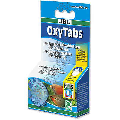 JBL OxyTabs - Oxygen Tablets For Freshwater Aquariums @ BARGAIN PRICE!!!