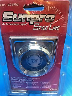 SUNPRO CP8200 STYLE LINE ELECTRIC AIR/FUEL RATIO GAUGE 2 in.