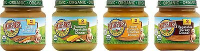 Earth's Best Organic Stage 2 Delicious Din Din Variety Pack 12 Count 4 Ounce