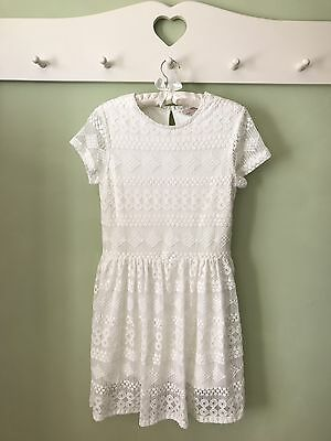 Beautiful 'Next' white Dress Age 13yrs - Party