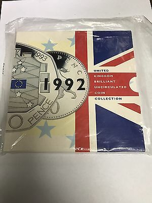 1992 United Kingdom Brilliant Uncirculated Coin Collection Sealed