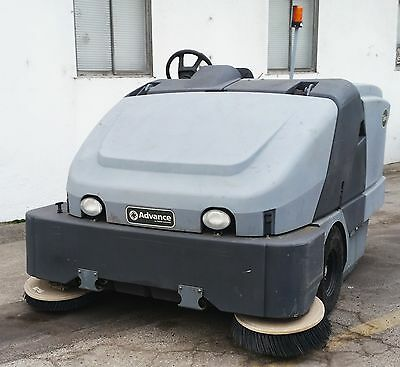 Nilfisk Advance Exterra 6340 LPG Rider Floor Sweeper