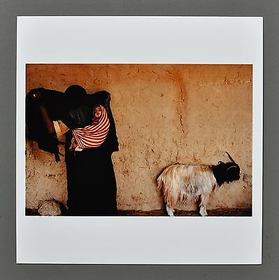 Harry Gruyaert Signed Magnum Archival Photo Print 15x15cm Erfoud Morocco 1986