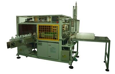 NEW Pinguan PDB bottle bagging machine for round and rectangle bottles
