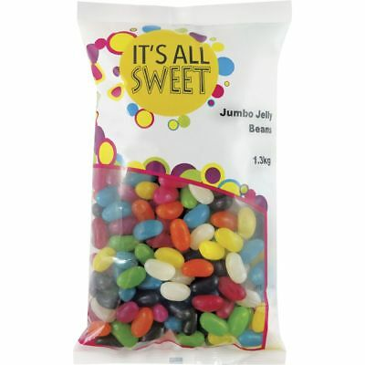It's All Sweet Jumbo Jelly Beans 1.3kg